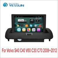 Для Volvo S40 C40 V50 C30 C70 2008 ~ 2012 Android Media Player Системы Радио Стерео gps навигации мультимедиа аудио видео