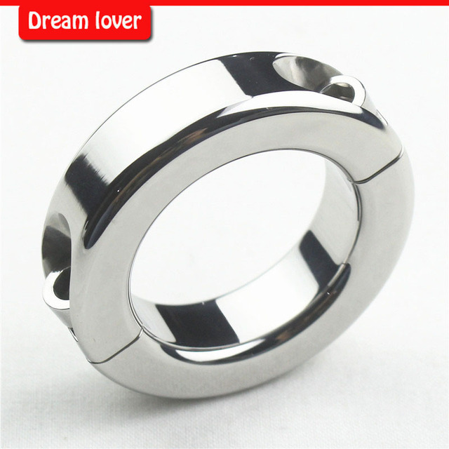 150g 100% the same with photo  Stainless Steel Metal Ball Stretchers,Scrotum Pendant Testis Weight Restraint Lock Ring