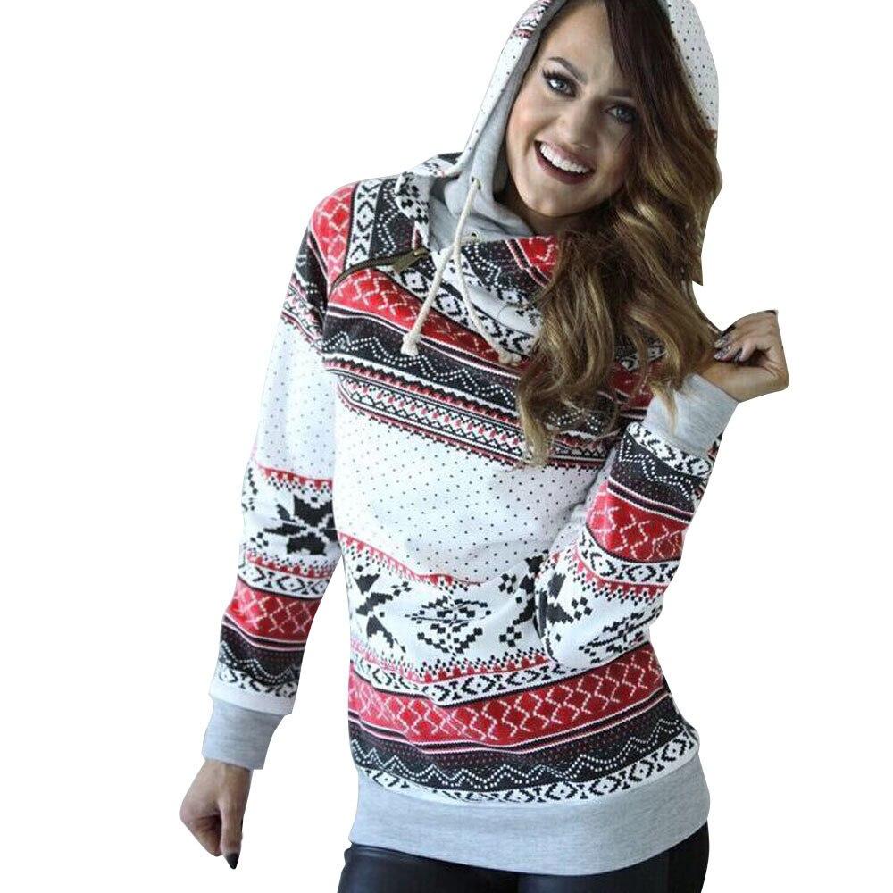 # Vestido 2017 Korean Long Sleeve Christmas Sweater Women Hoodies Sweatshirts Jumper Hooded Warm winter Pullover Women17
