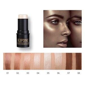 Makup Bronzer&Highlighter Stick 3D Contour Makeup Concealer Pen Face Waterproof Glow Brighten Sticks Concealer Cosmetic TSLM1(China)