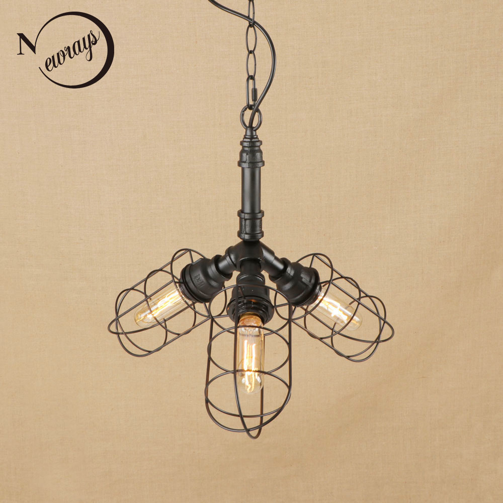 Luminaire Suspension Vintage Aliexpress Buy Vintage Iorn Painted Black Vintage Lampshade Indoor Pendant Lights Led Lamp Luminaire Suspension 220v For Dinningroom Hotel Bar
