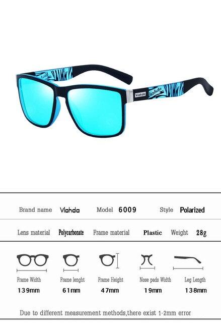 Viahda 2019 Popular Brand Polarized Sunglasses Sport Sun Glasses Sun Glasses For Women Travel Gafas De Sol 4