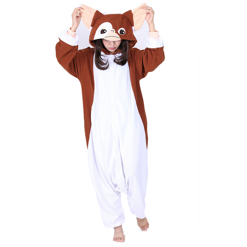 JINUO Fleece pijamas enteros de animales cosplay anime men animal pajama Women pyjama animaux adulte