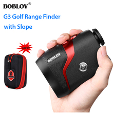 BOBLOV G3 6x22 Trena a Laser Profissional Golf Rangefinder Hunting Monocular with Free Bags