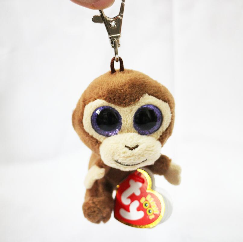 9ccabb53bfd TY Beanie Babies Boo s Coconut Monkey Key Clip 3