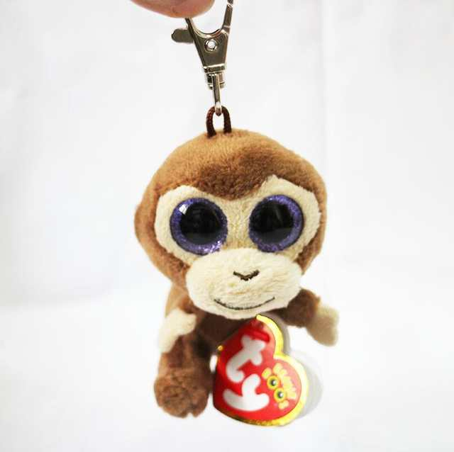 9fd40d6cb08 placeholder TY Beanie Babies Boo s Coconut Monkey Key Clip 3