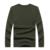 Hombres Suéter de cachemira de 2016 Recién Llegado de Invierno Gruesa Caliente Mens Sweaters O-cuello de Jersey de Lana de Los Hombres Prendas de punto Color Sólido Tirón Negro