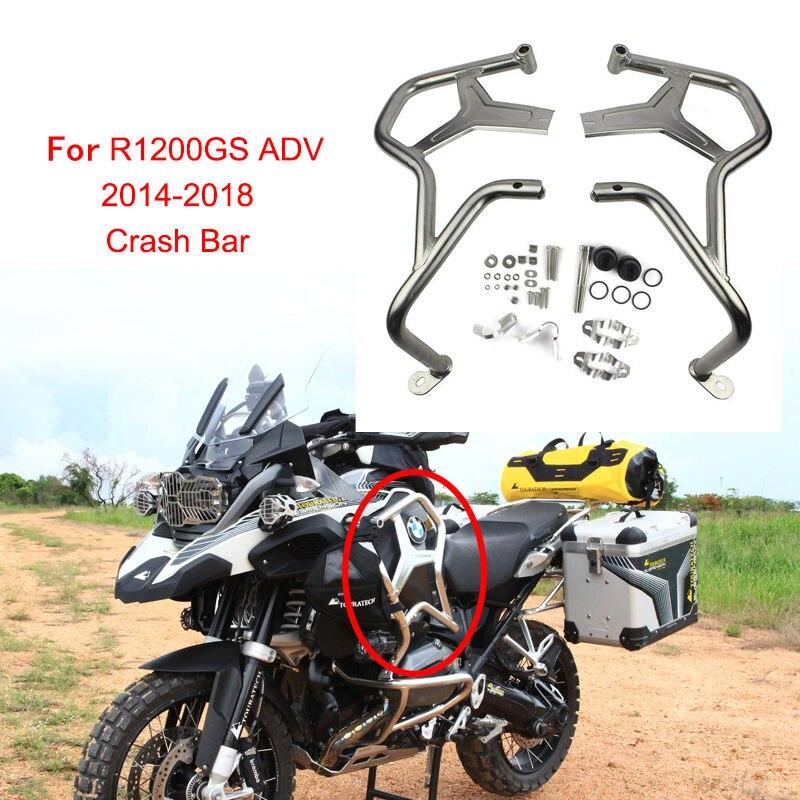 Для BMW R1200GS ADV 2014 2018 R1200 GS Adventure аксессуары для мотоциклов защита двигателя Крушение Бар протектор мотоцикл Crashbars