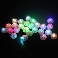 50PCS Lot LED Light Balloon Lights Luminous Colorful Flash For Lantern Christmas Halloween Wedding Party Decoration