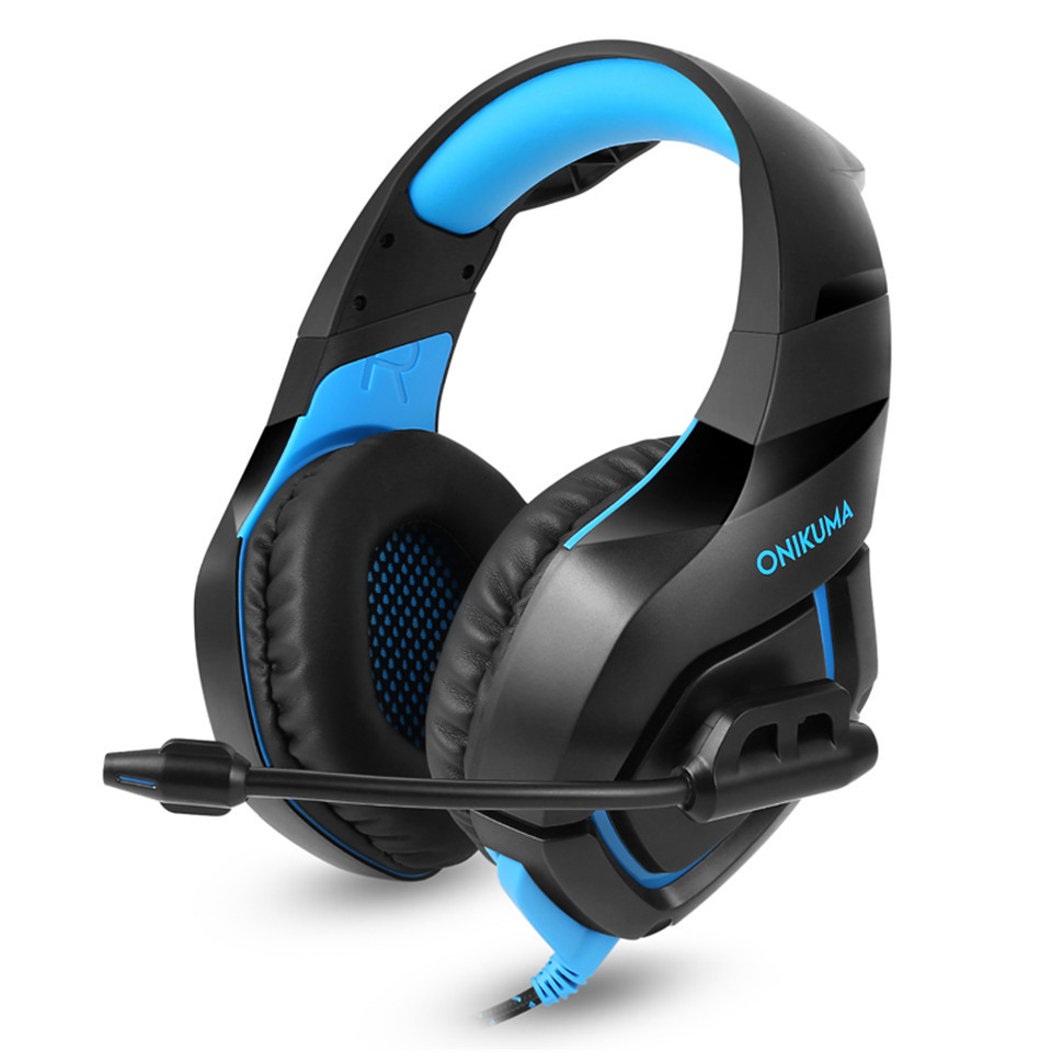 ONIKUMA K1 Camouflage PS4 Headset Bass Gaming Headphones Game ...