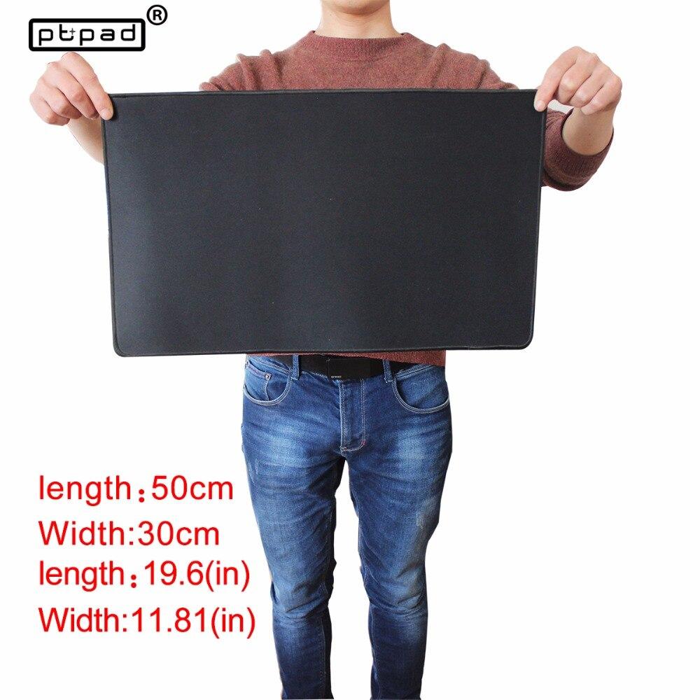 Pbpad shop 50*30mm medium Large Gaming Mauspad Schwarz Rastkante Mousepad Matte Tastatur Mat Tischset Für Dota 2 CS gehen
