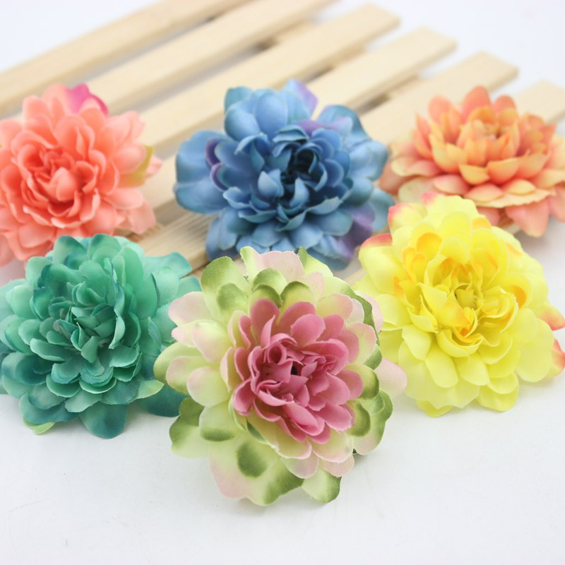 Beauty Artificial Branches Paper Covered Twigs Iron Wire DIY Bouquet Accessories