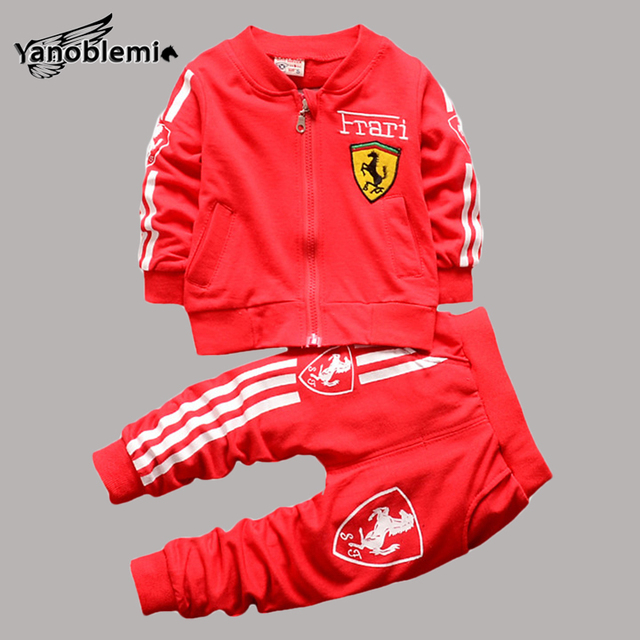 Boys Kids 2pcs Sport Clothes Set