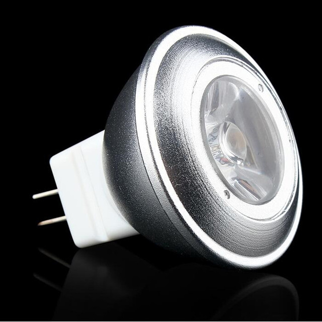 45 Degree Narrow Beam Angle Dc12v Lamp Dimmable Spot Light Bulb Mini Led Spotlight 3w Mr11