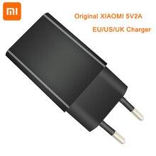 Xiaomi mi rojo mi 4C cargador de pared 5V2A adaptador de la UE nos enchufe de Reino Unido para mi A1 A2 lite 5 5x6 6X 8 SE 2 3 4 5 rojo mi 3 3s 4 X Pro 5