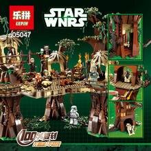 Compatible Legoe Stars Wars 10236 Lepin 05047 1990pcs Ewok Village Juguete para Construir Blocks Brick toys for children gift
