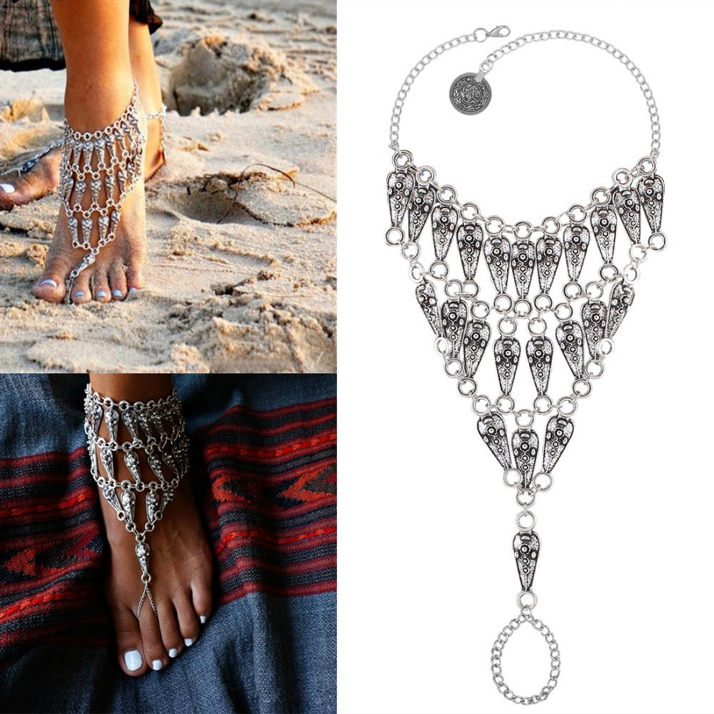 Naomy&zp Brand Vintage Anklets For Women Indian Boho Cute Beach Ankle  Bracelet Sexy Anklet Summer Wholesale
