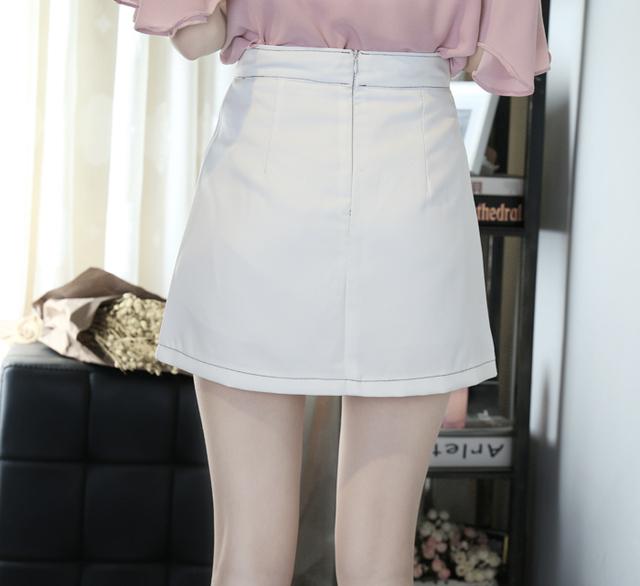 Preppy Style Women High Waist Mini Skirt