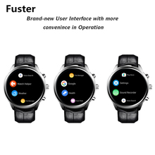 Fuster Android OS 5.1 MTK6580 Smart Watch with Speaker and Sim Card Slot Support 3G WCDMA and Wifi GPS Location Smartwatch