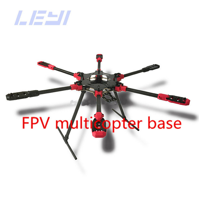 Hot Sale MAX6 Umbrella Folding 6 Axis Hexacopter Frame Kit with ...