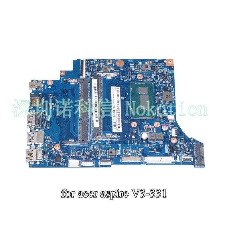 NOKOTION VA30-HB MB 13334-1 448.02B15.0011 Pour acer aspire V3-331 mère d'ordinateur portable NBMPH11001 NB. MPH11.001 SR1E3 Pentium 3556U