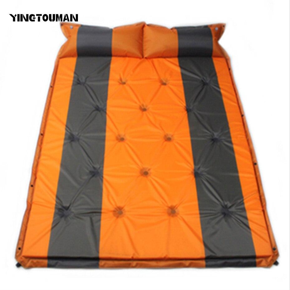 YINGTOUMAN 192*132 cm automatique gonflable en plein air plage couverture pliable Camping tapis pique-nique multijoueur pliable tapis pique-nique