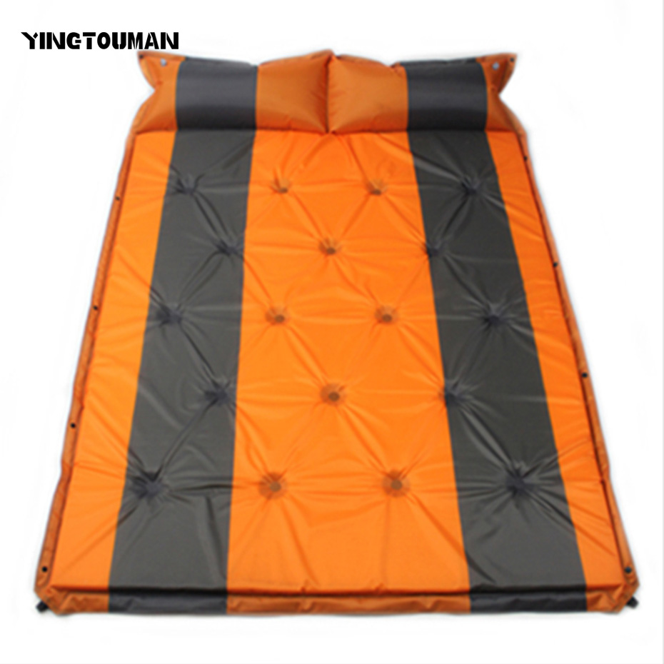 Здесь продается  YINGTOUMAN 192*132cm Automatic Inflatable Outdoor Beach blanket Foldable Camping Mat picnic Multiplayer Foldable Mat Picnic Mat  Спорт и развлечения