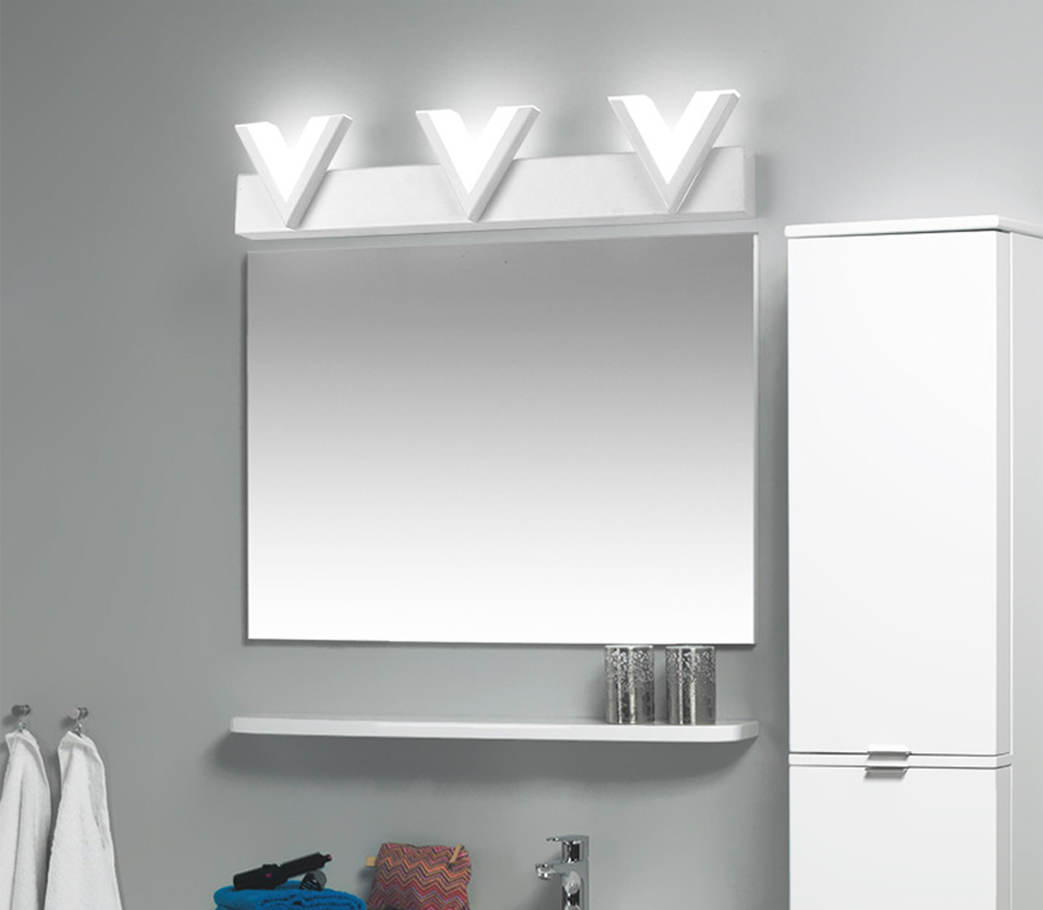 Bathroom Led Mirror Light 12W 25cm 18W 40cm AC220V Wall Lamp Acrylic ...