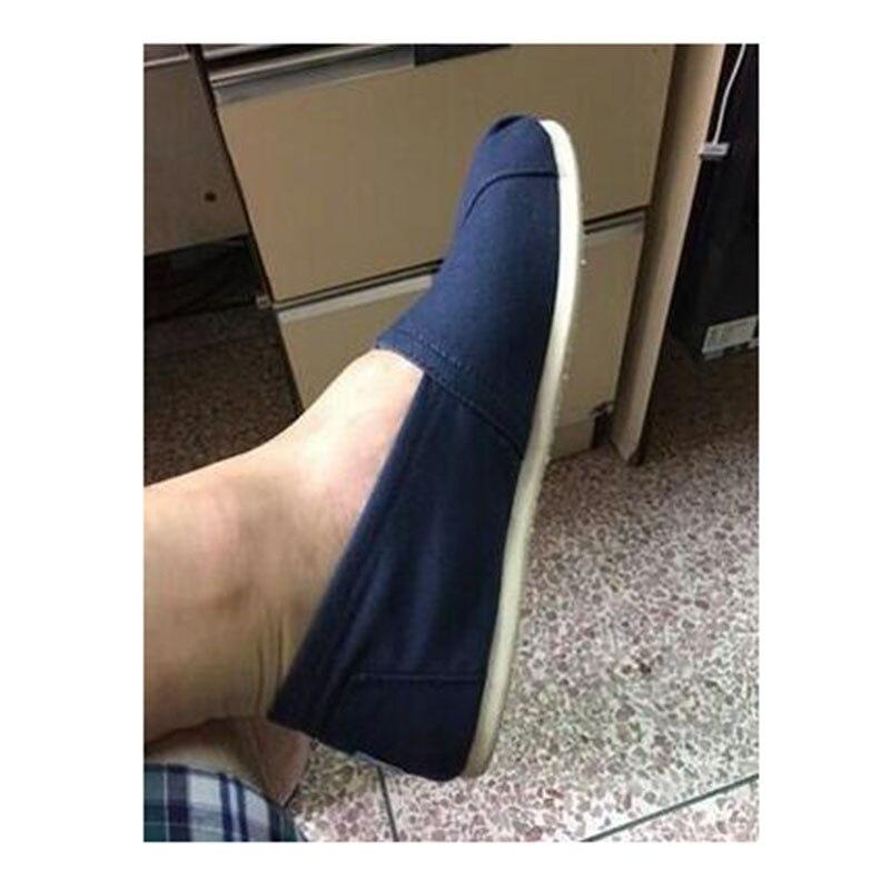 Manera de las mujeres y de los hombres zapatos de lona zapatos causales de los holgazanes