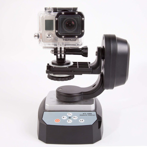 Image 2 - HFES ZIFON YT 500 Control remoto automático Pan Tilt motorizado giratorio Video cabeza de trípode para iPhone 7/7 Plus/6/6 Plus Smartphone