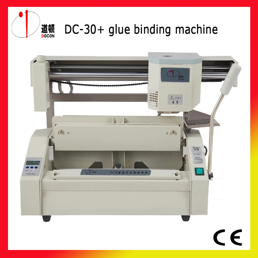 DC 30+ A4 Perfect Binding Machine,glue Binding Machine