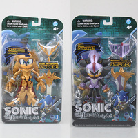 Anime Excalibur Sonic And The Black Knight 1 9 Scale Painted PVC Action Figure Collectible Model