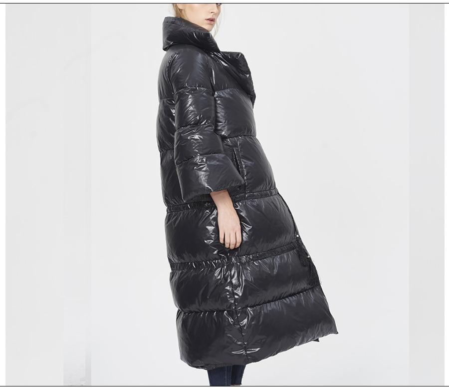 Parkas Jackets & Coats Ugrevz Winter Coat Designers Jacket Cloak Jumper Plus Light Ultra Womens Parkas Puffer Large Size 2018 Black Long Coats Jackets
