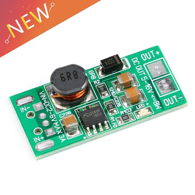 8W USB Input DC-DC 5V to 9V//12V Step Up Power Supply Boost Module NEW