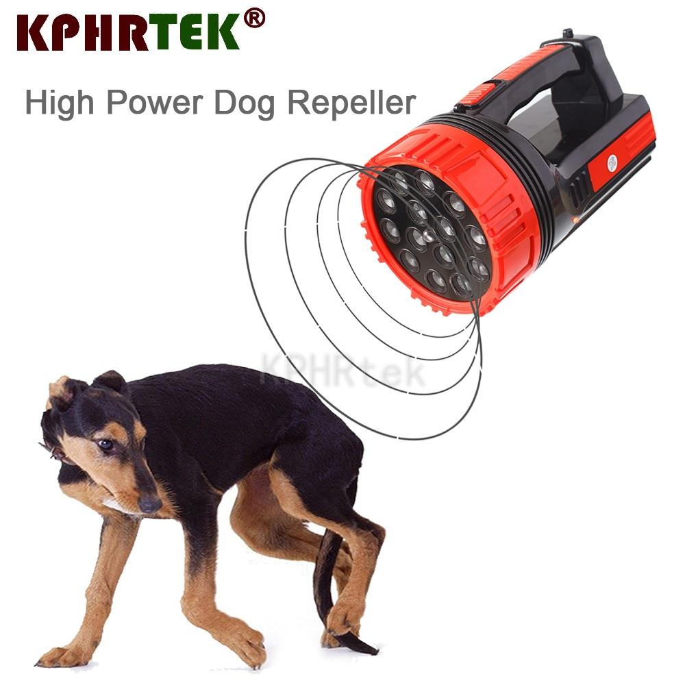 High Power 14 Heads Strong Ultrasonic Dog Cat Chaser Stops Aminal Attacks Deterrent Repeller