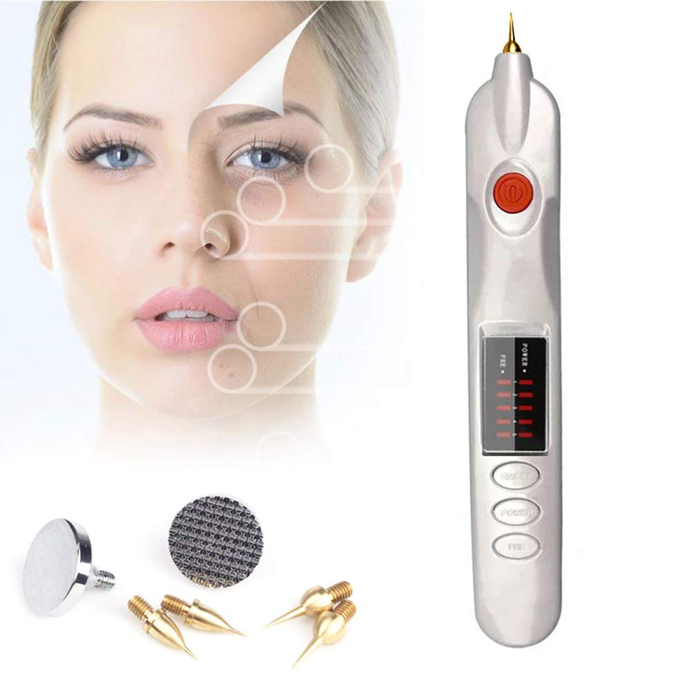 Plasma Pen Mole Wart Removal Tool Freckles Tattoo Spot Remover Skin Tags Care Skin Firming Wrinkle Removal Machine