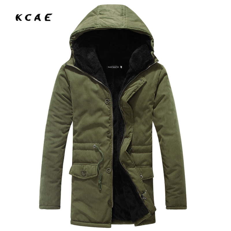 Hot Sale 2017 New Men's Winter Jacket Men Hooded Wadded Thicken Winter Coat Men Casual Slim Pure Color Outwear Parka Men hot sale new winter mens jacket and coats fashion men cotton coat hoodies wadded military thickening casual outwear h4573