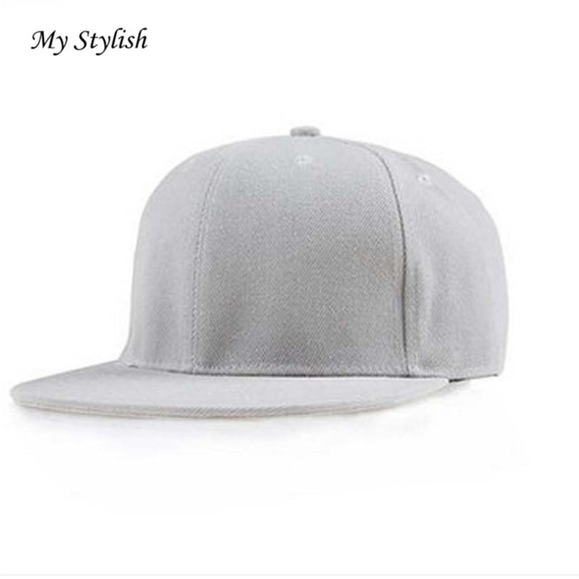Mujeres sombreros 2017 Nuevo diseño moda unisex Plain SnapBack sombreros  hip-hop ajustable gorra de béisbol adkistable calidad superior DEC 23 965c02b532e