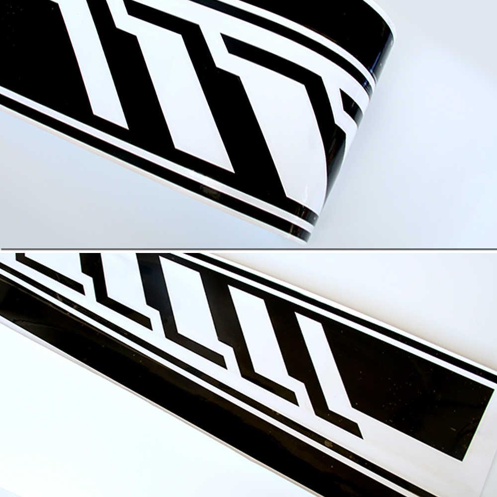 ペア版 1 サイドストライプデカールメルセデスベンツのための W205 C クラス C63 AMG ステッカー-6 色選択する