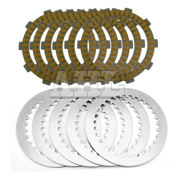 A set Motorcycle Engine Parts Clutch Friction Plates Kit & steel plates For HONDA AX-1 250 NX250 AX1 AX 1 NX 250 1989