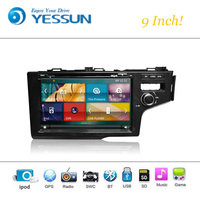 Car DVD Player Wince System For Honda Fit 2014 2016 9 Inch Autoradio Car Radio Stereo GPS Navigation Multimedia Audio Video