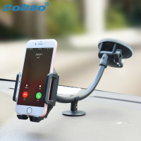 Cobao Mobile Phone Holder Car Universal Cell Phone Car Holder Adjustable Windshield Phone Car Mount For
