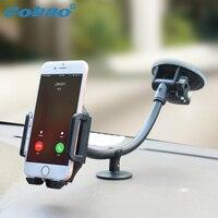 Cobao Mobile Phone Holder Car Universal Cell Phone Car Holder Adjustable Windshield Phone Car Mount For