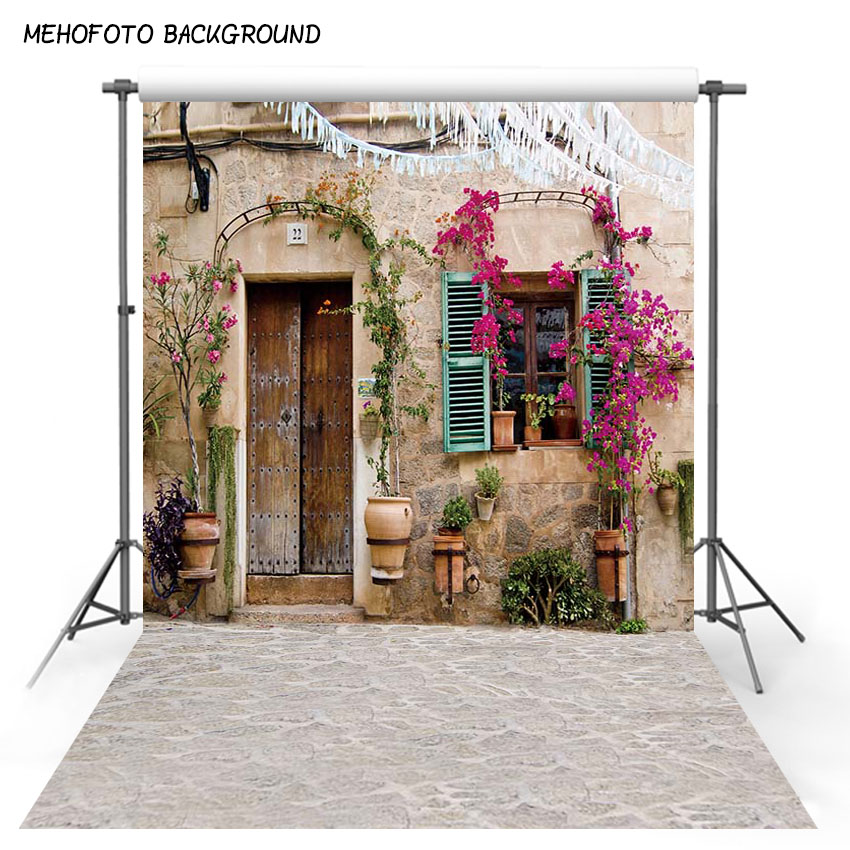 Vintage House Photo Background Vinyl Photography Backdrops Customized Wedding Party Backdrops for Photography Studio CM-5235 200 300cm wedding background photography custom vinyl backdrops for studio digital printed wedding photo props
