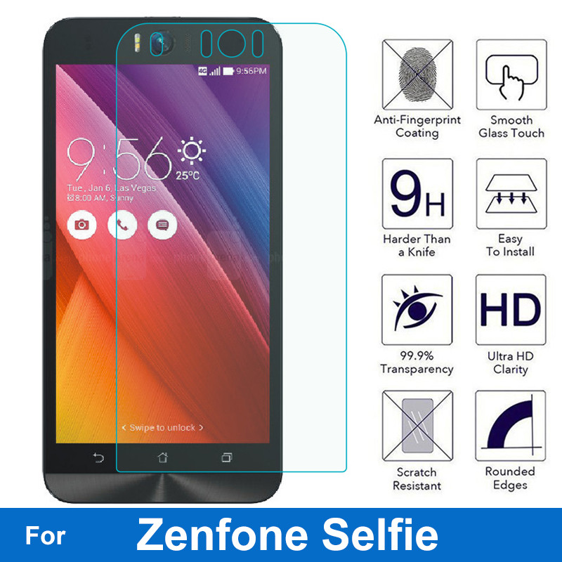 Tempered Glass Screen Protector 0.26MM 9H Protective Glass Film For Asus ZenFone Selfie ZD551KL Zd551 Dual SIM LTE TW JP US