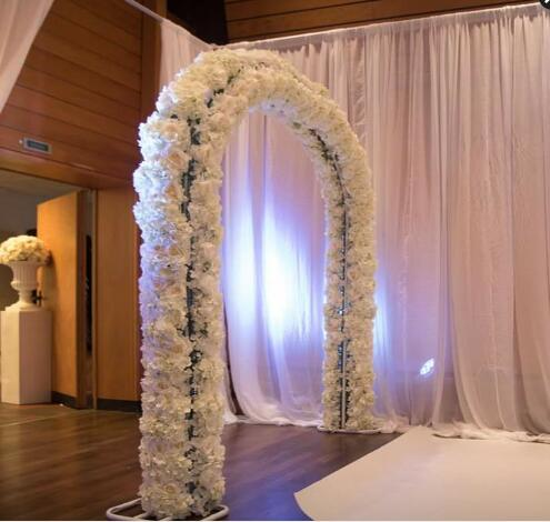 Wedding Decor Flower Door Iron Arch Shelf Wedding Arch For Festival And Party Supplier