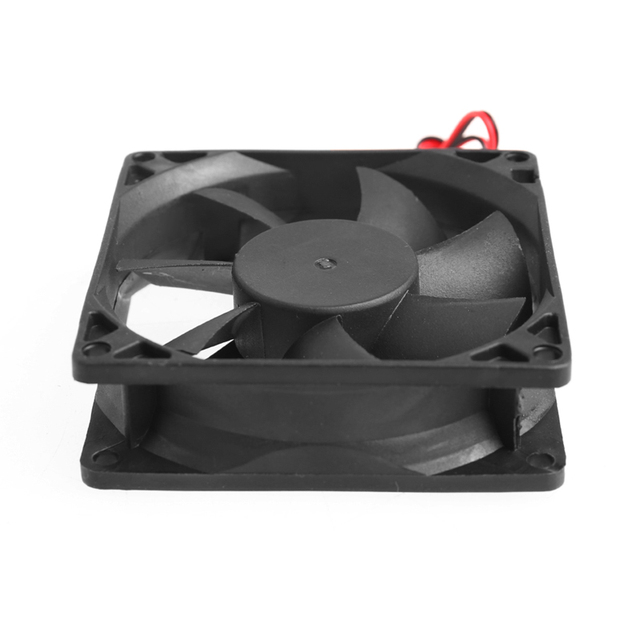 80 x 80 x 25mm 12V 2-pin Brushless Cooling fan for Computer 4