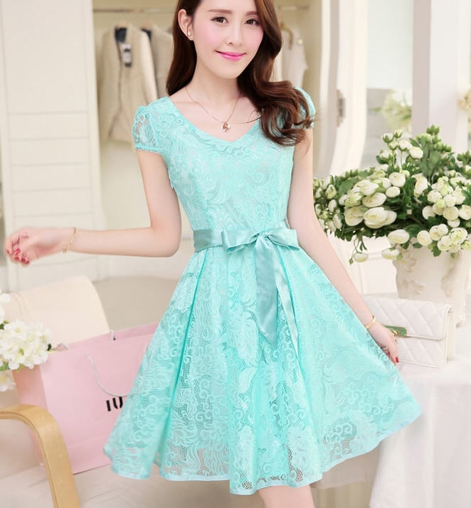 Aliexpress.com : Buy S 3XL summer new cute mini dress 2015 Korean ...