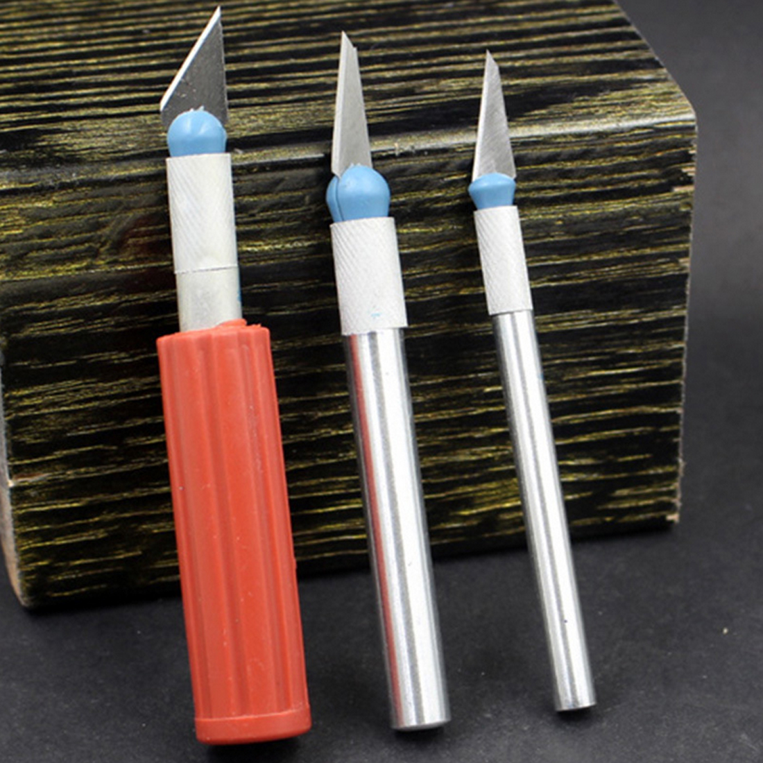 Купить с кэшбэком Wood Carving Hand Chisel Set Repair DIY Cutting Tool Craft Sculpture Engraving Scalpel Woodworking Carpenter Tools Set