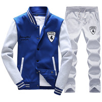 Spring Autumn Men S Fashion Sportswear Sporting Suit Men Clothes Track Suits Tracksuits Male Sweatshirts Men